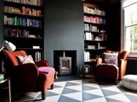 Черная гостиная – вдохновляющие идеи стильного и современного дизайна (105 фото)