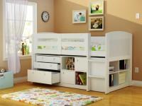 Детская кровать-чердак — стильная и удобная экономия пространства. 115 фото основных вариантов