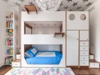 Детские двухъярусные кровати — самые популярные варианты для детей и подростков (70 фото)