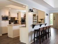 Кухня с барной стойкой – 80 фото гениальных идей дизайна для современных интерьеров