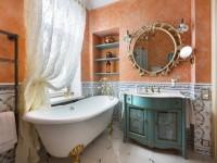 Отделка ванной – лучшие варианты оформления и обзор современных материалов 81 фото 2018 и 10 фото 2019