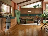 Пол на кухне – основные варианты напольных покрытий и их оформление (105 фото)