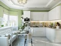 Шторы на кухню – 70 фото современных идей украшения кухонных окон
