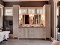 Тумба для ванной – декор и небольшие хитрости при оформлении дизайна ванной (85 фото)