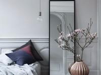 Зеркало в спальню – особенности расположения и правила оформления разных видов зеркал (75 фото)