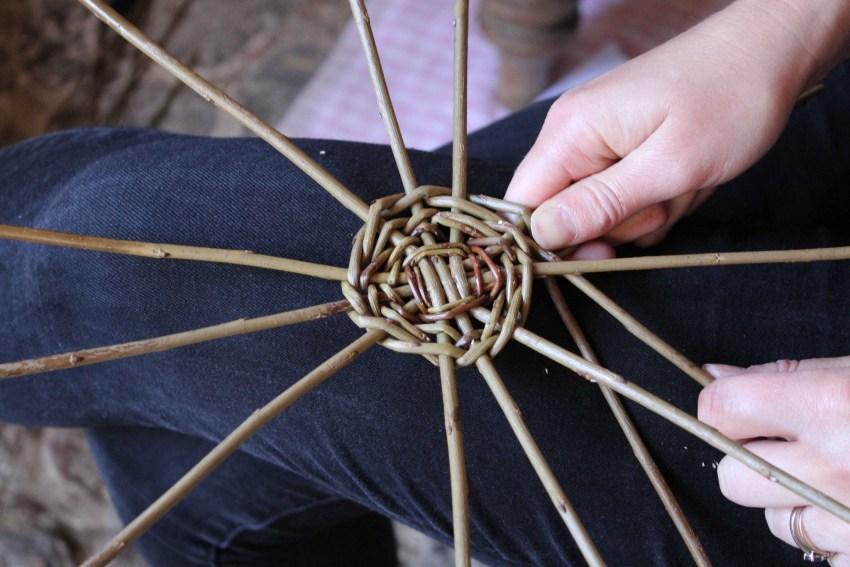 Плетение из ивового прута для начинающих