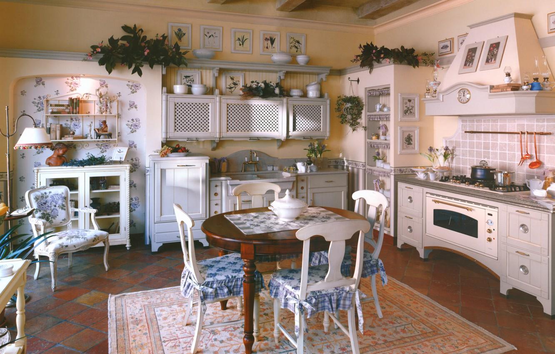 прованский стиль на кухне фото зданиях сохранилась