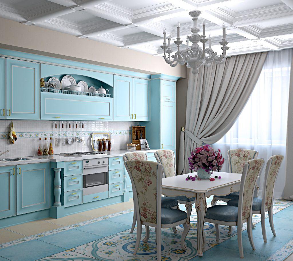 интерьер кухни в стиле прованс фото картинки статья объяснит вам