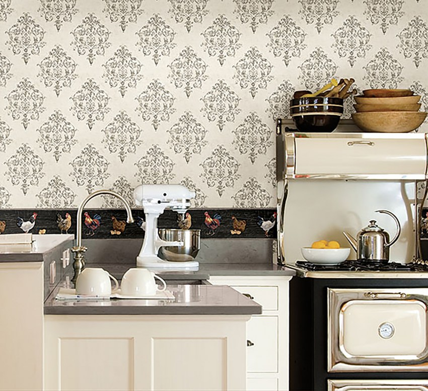 это простые обои для кухни картинки девочки