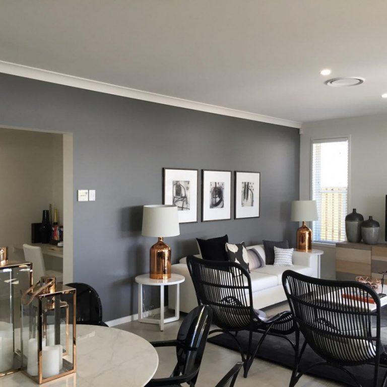 фрэнк стены покрашены в французский серый цвет фото логаном