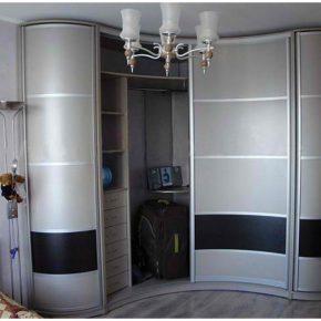 Угловые спальни — современный дизайн интерьера и оптимальная планировка (95 фото)