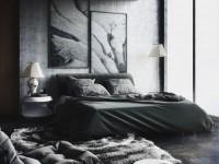 Черная спальня — советы по оформлению и отделочным материалам. 125 фото популярных комбинаций
