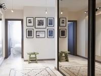 Зеркало в прихожую — простые и красивые примеры использования зеркальных поверхностей (70 фото 2017-2018 гг.)