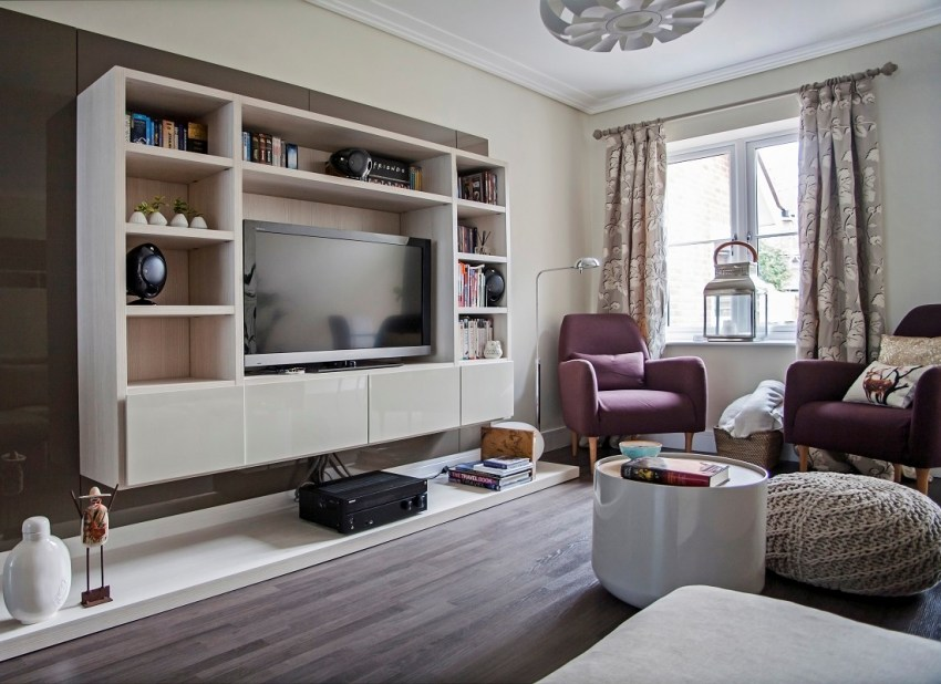 модульные гостиные современный дизайн функционального дома 90 фото