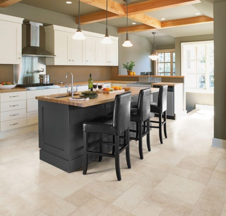Kitchen floor tile options