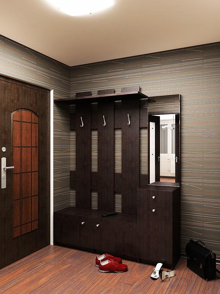 Прихожая в квартире - современные варианты дизайна и украшен.