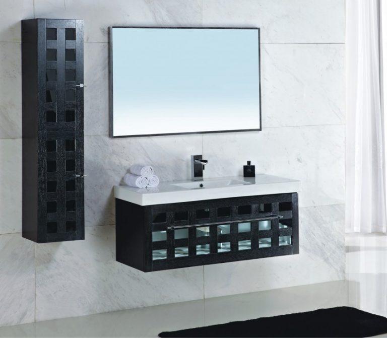 Bathroom wall cabinets espresso