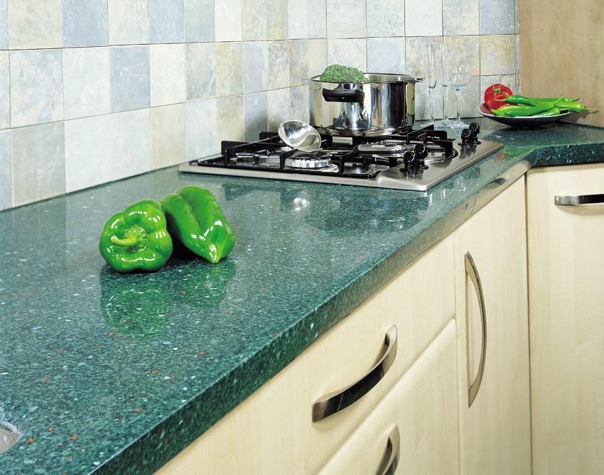 Варианты столешниц для кухни